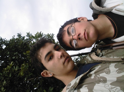 yo con mi primo