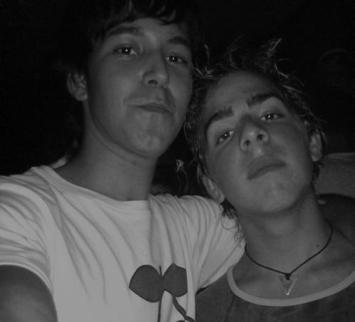 Andrew y yo!!! ratetaaa d espuma...